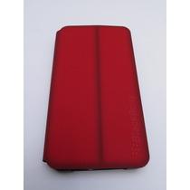 Blackberry Z10 Funda Original Flip (rojo Oscuro)