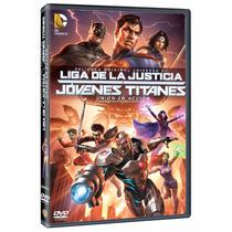 Liga De La Justicia Y Jovenes Titanes Union Accion Dvd