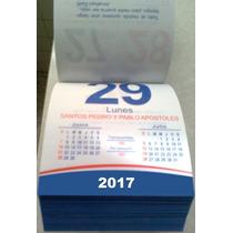 Calendario Len 2017 Taco Exfoliador Varilla Pared Escritorio
