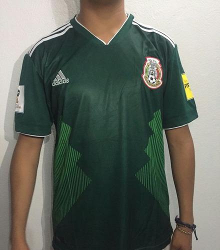 Playeras adidas Mundial Seleccion Mexicana Clon d47485ddebe
