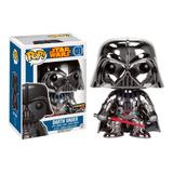 Funko Pop Darth Vader Chrome Exclusivo Saharis Nuevoorigina