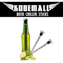 Kobemall Cerveza Chiller Sticks Enfriador (2pc)