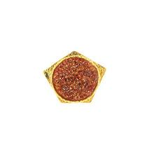 Swarovski Elements Anillo Estrella Talla 8 Red Magma Gma