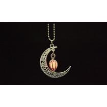 Collar Regalo Mujer Novia Eclipse Luna Amor Brilla Oscuridad
