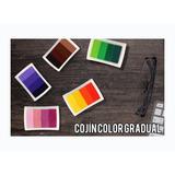 Cojín Para Sellos Color Gradual Scrapbook, Eventos Y Boda