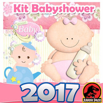 Baby Shower Kit Imprimible Babyshower Niña Niño Juegos 2016