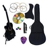 Guitarra Acustica Nuevo Paquete De Accesorios Completo