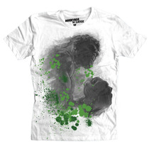 Playera Marvel Hulk Sketch De Mascara De Latex