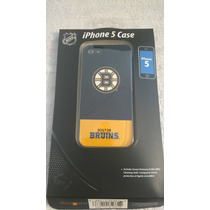 Cascara Y Mica Protectora Iphone 5 Nhl Boston Bruins