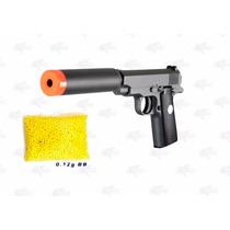 Marcadora Silenciador G2a Airsoft Spring Bbs 6mm Xtreme