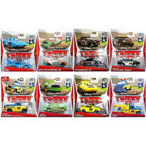Cars Disney King. Nitroade. Chick Hicks. Serie Piston Cup.