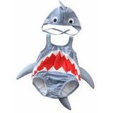 Taje Bano/disfraz Tiburon  Baby Shark  ( 1 A 4 Anos )