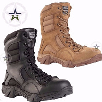 Botas Militares Tácticas Swat Original Modelo Rd Negra Kaki