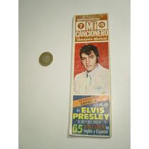 Antigua Revista Especial Mi Cancionero Elvis Presley