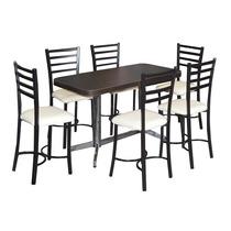 Mesa Y Sillas Bar Antro Restaurante Cafeteria Lounge Ve120s6