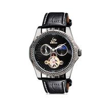 Reloj Mecánico Esqueleto Automático Hombre Maquinaria Lujo