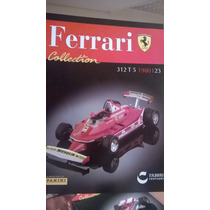 Ferrari Collection Panini 23 312 T5 1980 Gilles Villeneuve