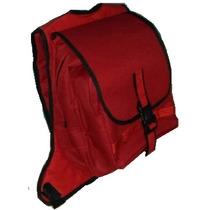 Mochila Roja, Resistente Tamaño Ch, P/tableta/laptop Ch