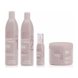 Alfaparf Lisse Design Keratin Therapy Set Completo 4 Pasos