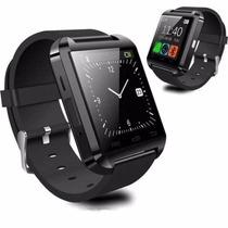 Smart Uwatch U8s Reloj Inteligente Bluetooth Amdroid Negro