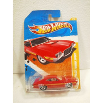 Hot Wheels 72 Ford Gran Torino Sport Rojo 2/244 2011 Tl