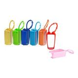Funda Holder Para Gel Antibacterial De 30ml Colores