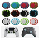 2 Gomas Joystick (1par) Thumb Silicon Ps4 Xbox Fosforescente