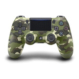 Control Joystick Sony Dualshock 4 Green Camouflage