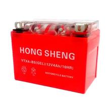 Bateria De Gel Ytx4 Cargo Bws Italika Honda Hong Sheng