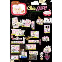 Kit Imprimible Hello Kitty Personalizable Fiesta Hada