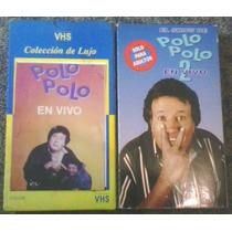 El Show De Polo Polo En Vivo Vol 1 Y 2 En Vhs Para Colección