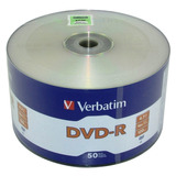 Dvd -r Verbatim  Virgen 16x 4.7 Gb 50 Piezas # 97493 Full