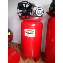 Compresor De 5 Hp Motor De 3 Hp Trifasico Tanque 300 Lts Ver