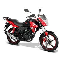 Moto Italika 125z Negro / Rojo