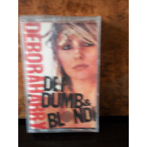 Debora Harry. Def Dumb & Blonde. Cassette.