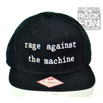 Rage Against The Machine Gorra Importada 100% Original