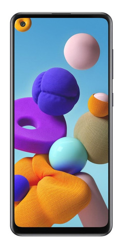 Samsung Galaxy A21s Dual Sim 64 Gb Negro 4 Gb Ram