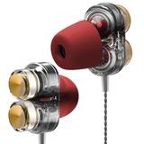 Audifonos Qkz Kd7 Con Microfono Y Estuche Envio Full Gratis