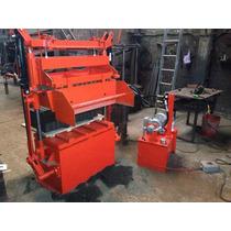 Maquina Bloquera Hidraulica 8piezas 12x20x40