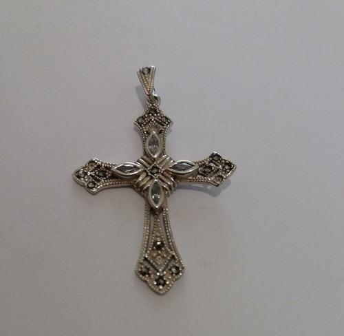 28215328f4ee Dije Unisex Crucifijo Cristo En Plata Fina Ley 925 Barato en venta ...