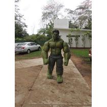 Traje De Hulk Tipo Botarga