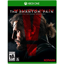 .: Metal Gear Solid V Phantom Msi:. Para Xone En Start Games