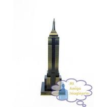 Edificio Empire State Nueva York Usa Modelo Escala Metal 18