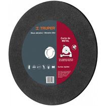 Disco Abrasivo Corte Extra Fino De Metal 1.5 Mm Truper 12546