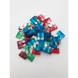 100 Fusibles Automotriz De Colores Varios Amperes