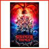 Poster Adherible Alta Definición Hd Stranger Things #3 48x31