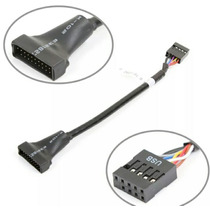 Cable Adaptador Usb 3.0 Hembra 20p A Usb 2.0 Macho 9p Nuevo