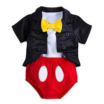 Disfraz Mickey Mouse Bebe Niño Disney Traje Halloween