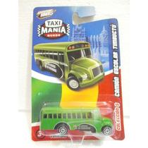 Taxi Mania Camion Escolar Timbuctu Verde