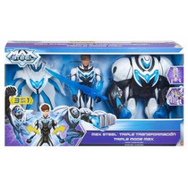 Max Steel Triple Transformación Mattel